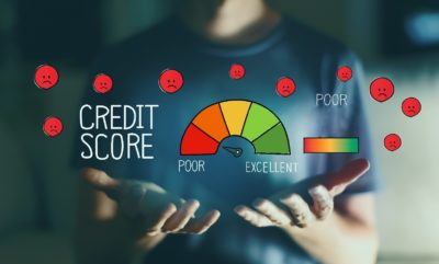 Man takes his bad credit score in his own hands