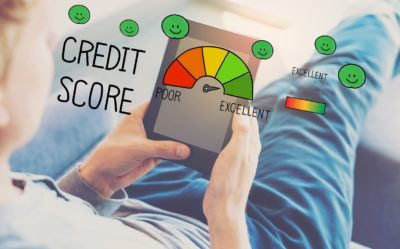 Man builds his credit score