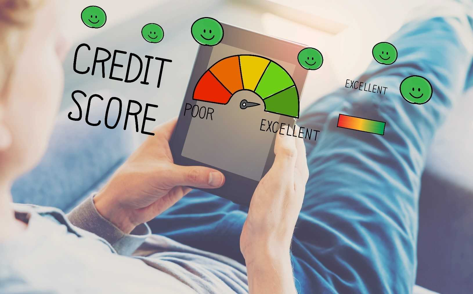 Man builds his credit score