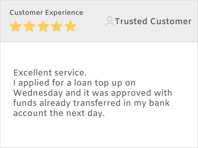 customer service review example 3